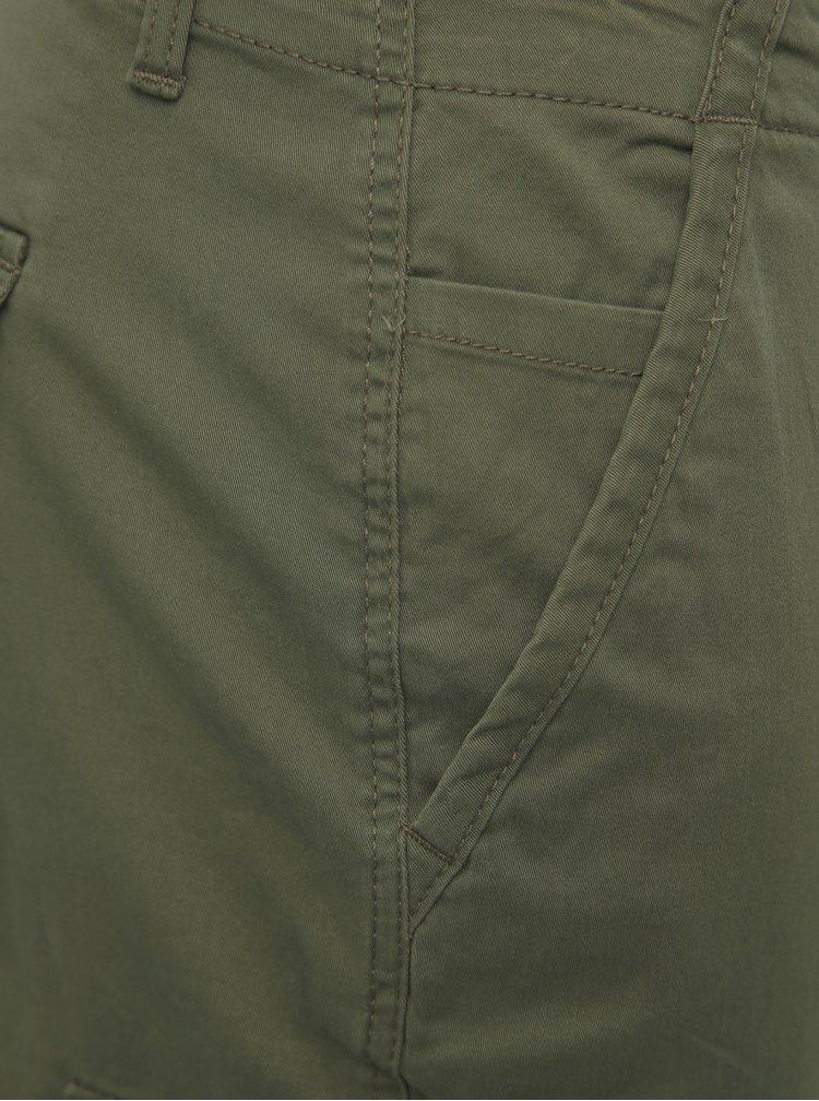Zelené tapered kalhoty Jack & Jones Paul