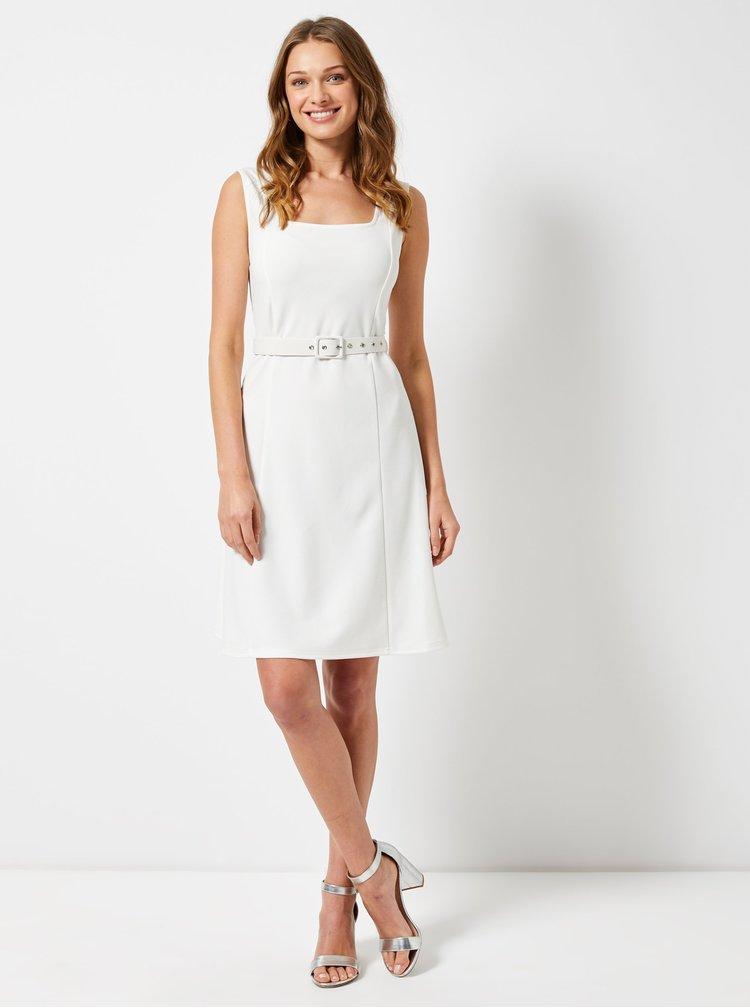 Bílé šaty Dorothy Perkins