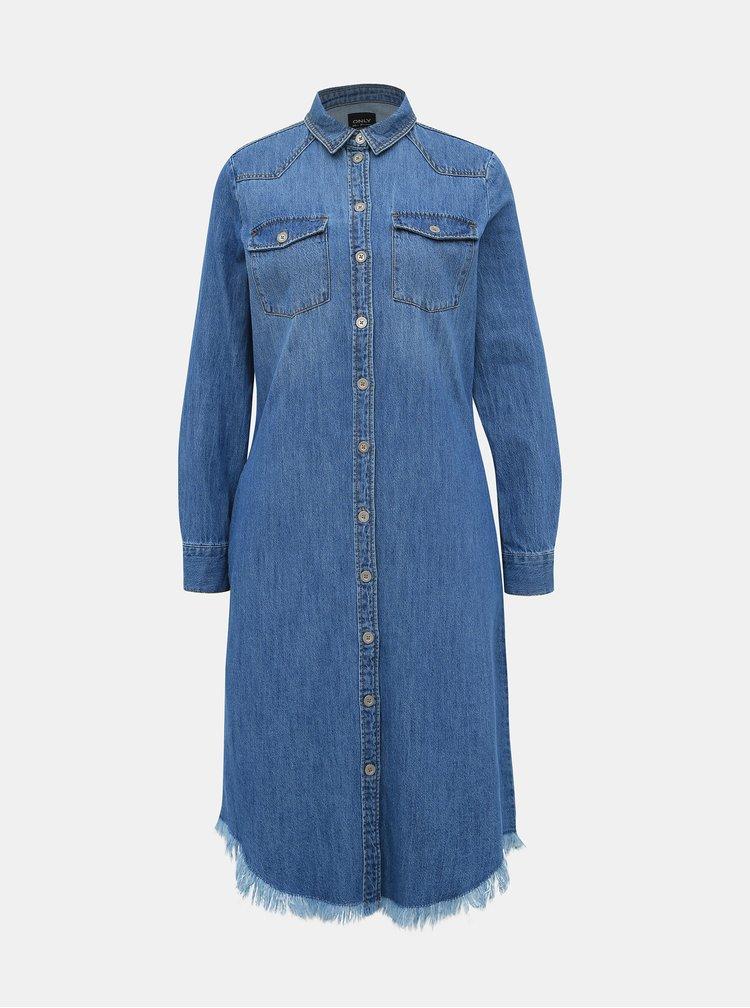 Rochii casual pentru femei ONLY - albastru