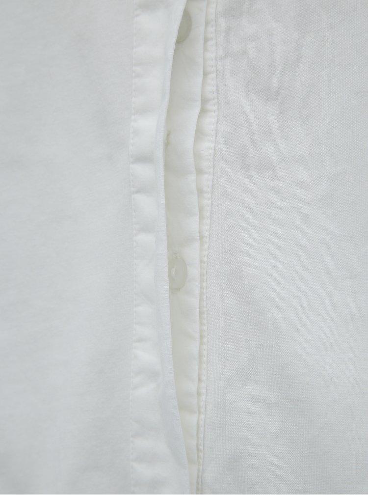 Bílá košile Noisy May Carla