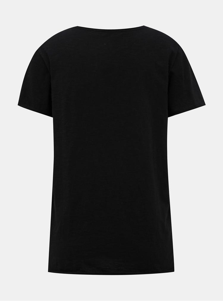 Černé basic tričko ONLY Brews