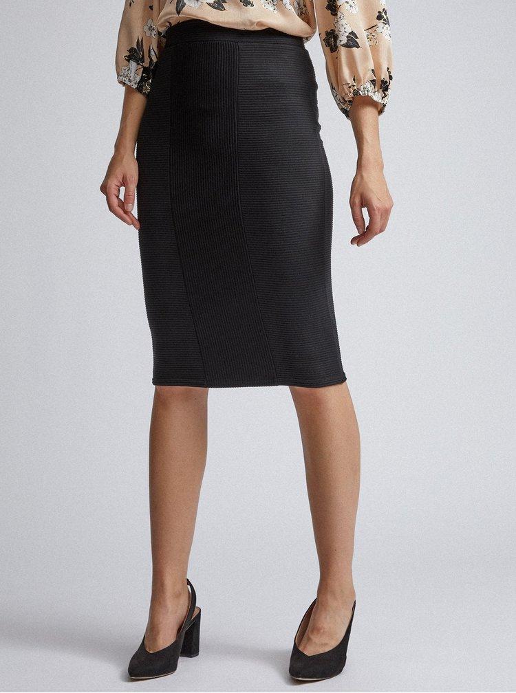 Čierna púzdrová sukňa Dorothy Perkins