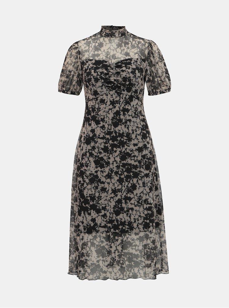 Rochii casual pentru femei Miss Selfridge - bej, negru