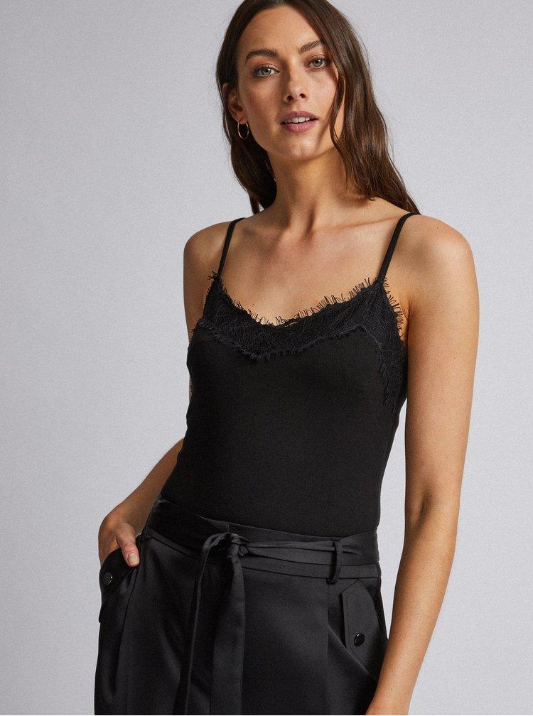 Černé tapered fit kalhoty Dorothy Perkins