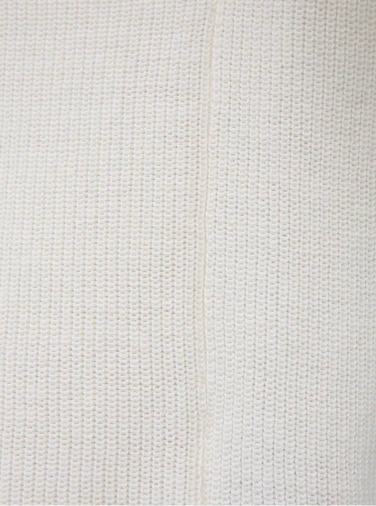 Bílý basic svetr VERO MODA Lexa