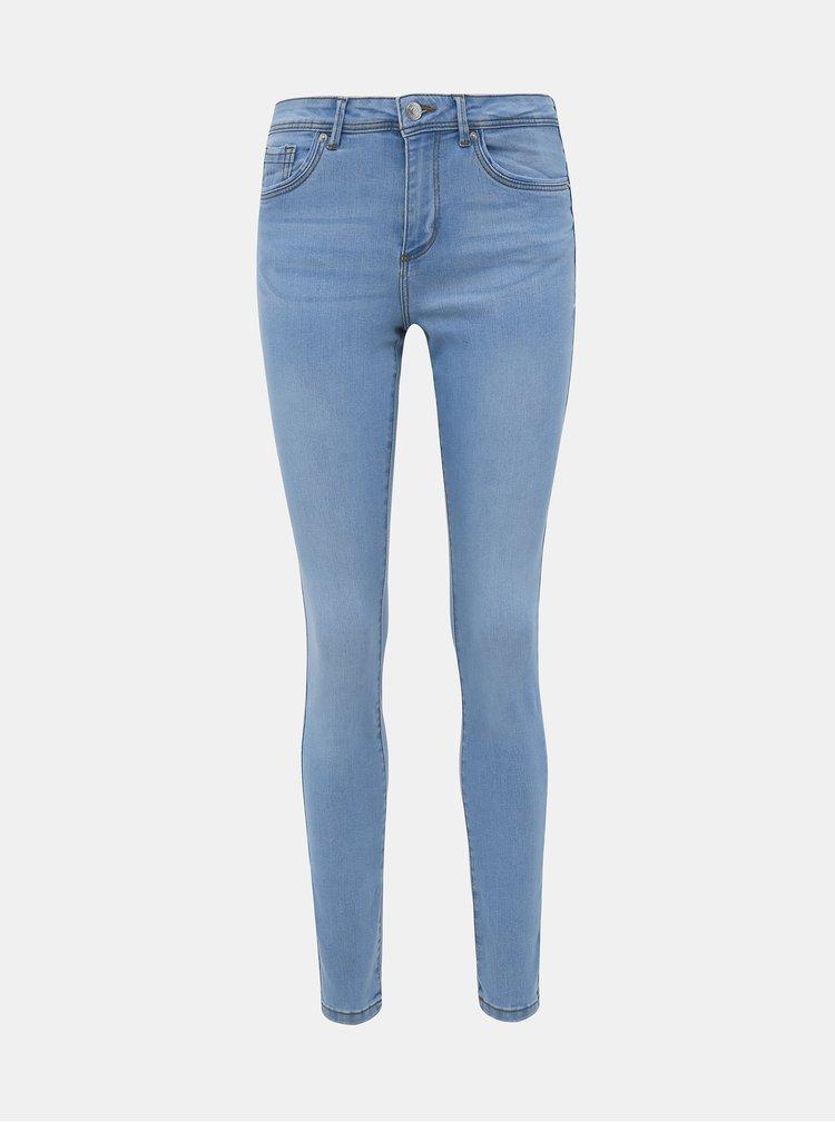 Světle modré skinny fit džíny VERO MODA Tanya