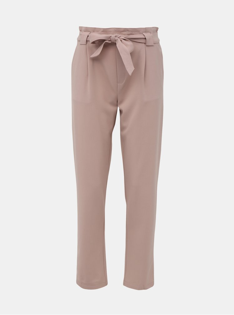 Růžové kalhoty Jacqueline de Yong Dakota