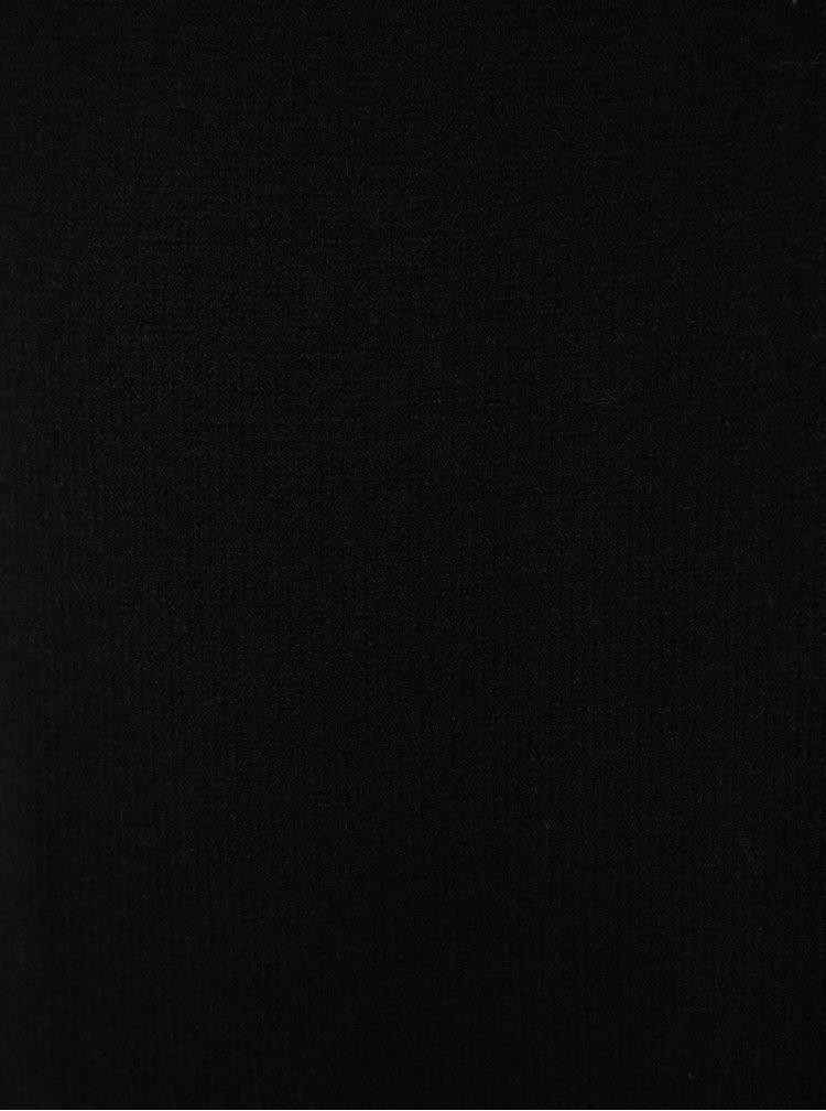 Čierne svetrové šaty VILA Ril