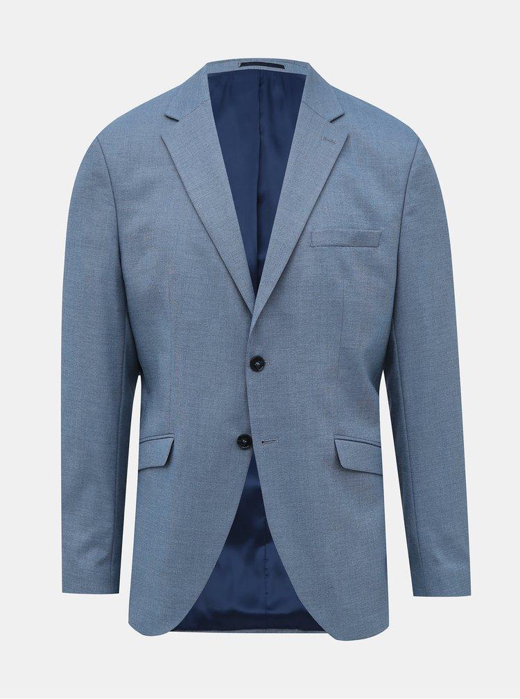 Světle modré oblekové sako Selected Homme Logan