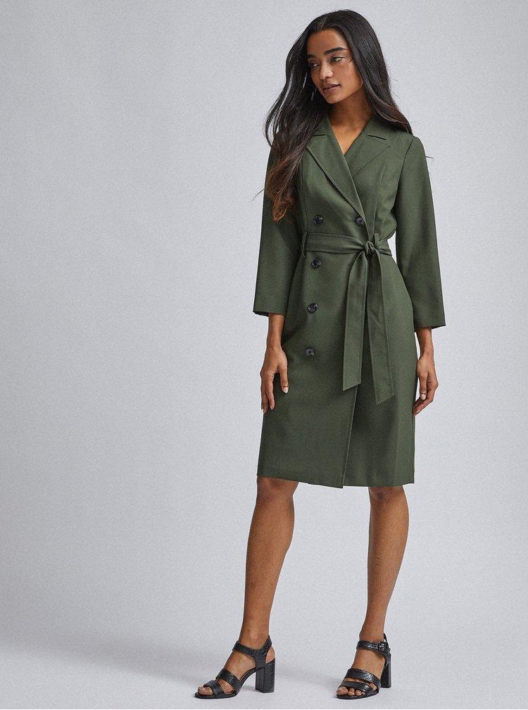 Rochii casual pentru femei Dorothy Perkins Petite - verde inchis
