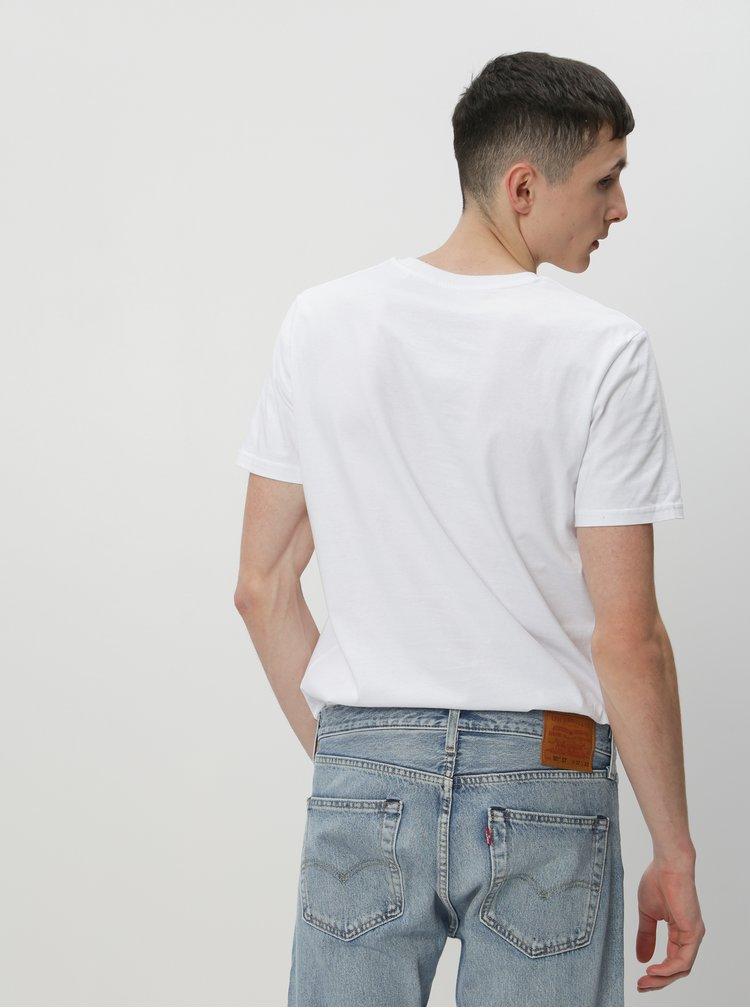 Bílé pánské tričko ZOOT Original Všechny vás miluju