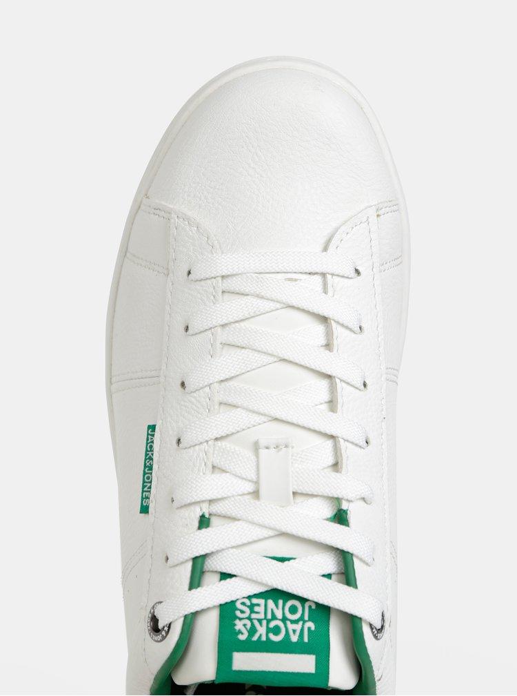 Biele tenisky Jack & Jones Banna