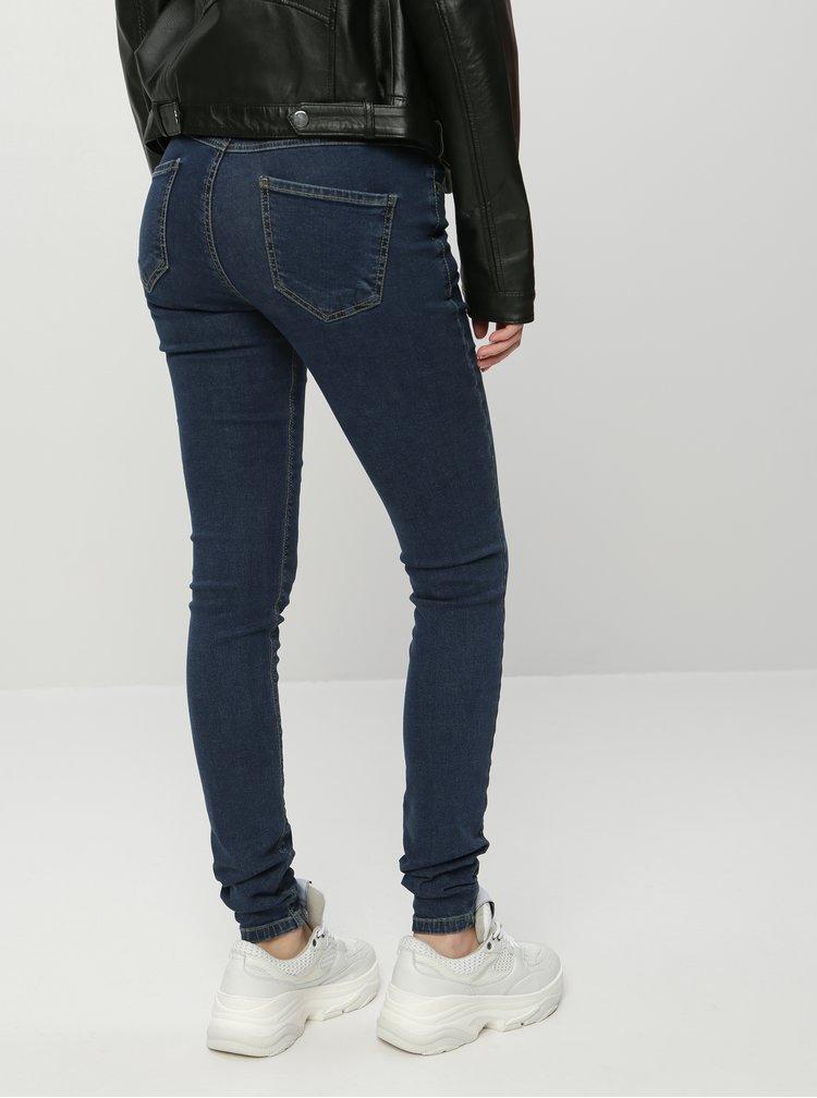 Modré dámské slim fit džíny ZOOT
