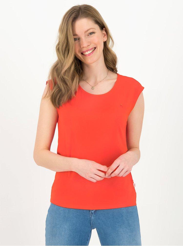Červené tričko s výšivkou Blutsgeschwister Sailor love