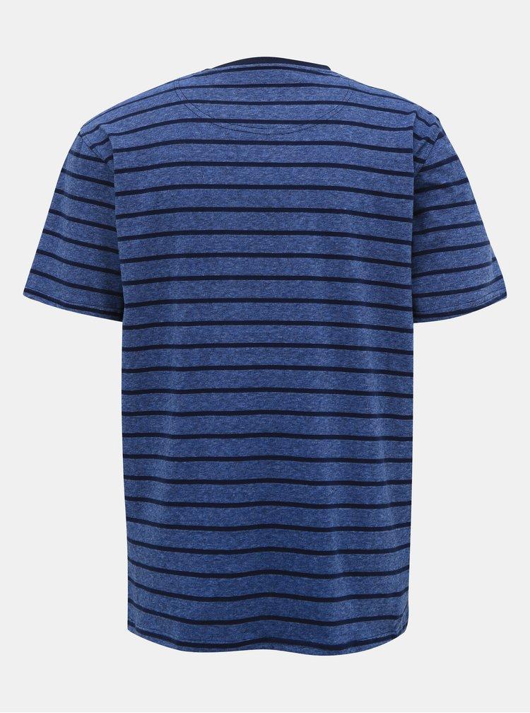 Tricouri pentru barbati Raging Bull - albastru inchis