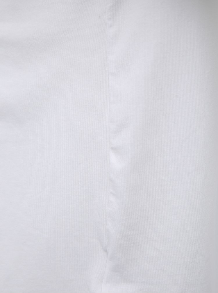 Sada dvou bílých pánských basic triček Lacoste