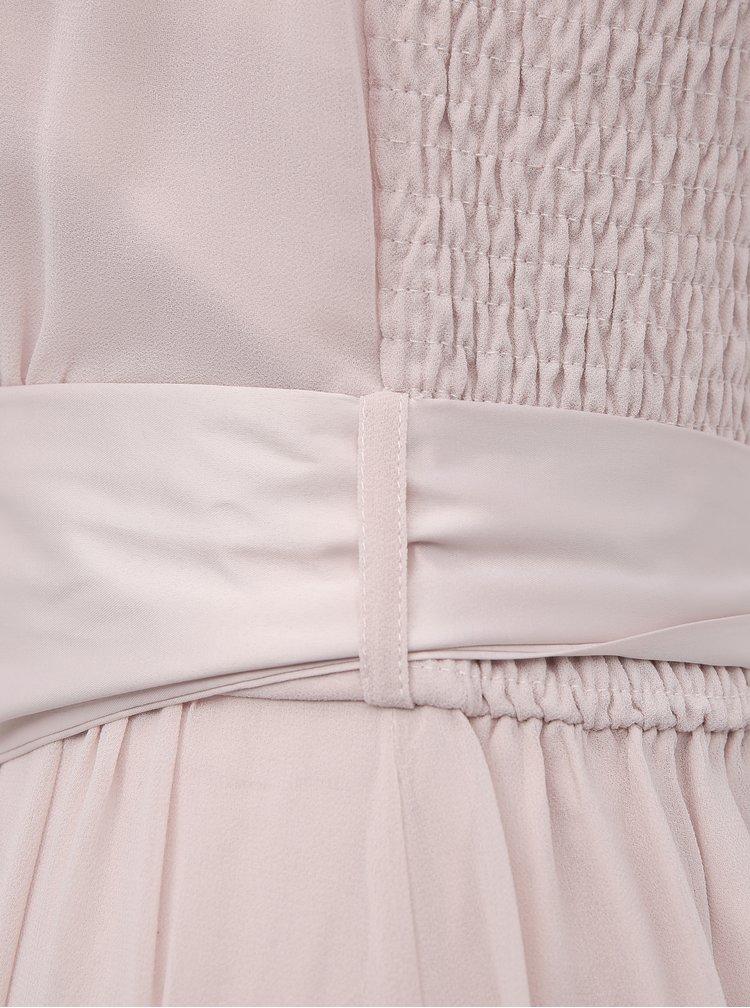 Světle růžové maxišaty Dorothy Perkins Tall