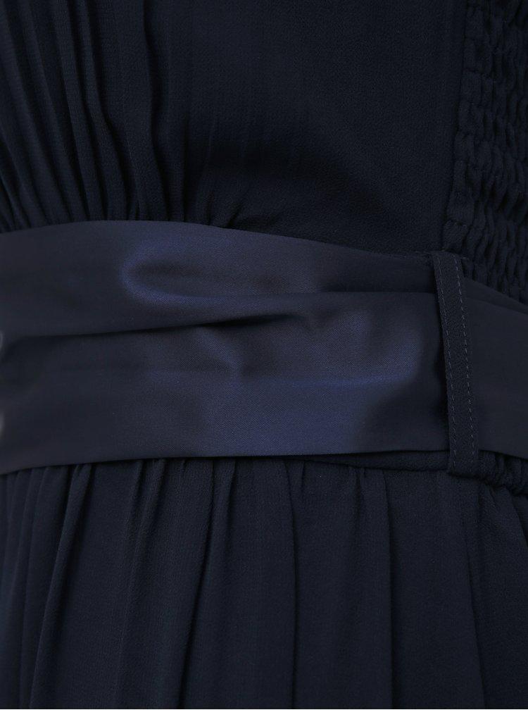 Tmavě modré maxišaty Dorothy Perkins Tall