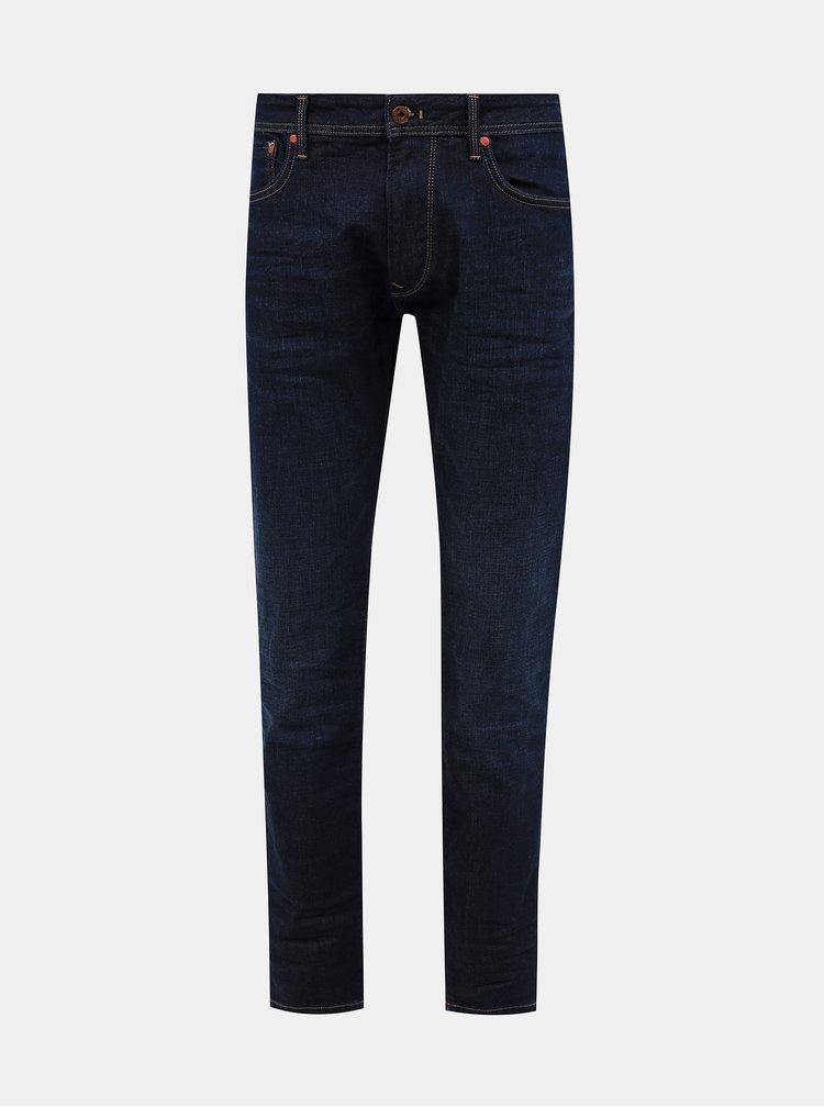 Straight fit pentru barbati Pepe Jeans - albastru inchis