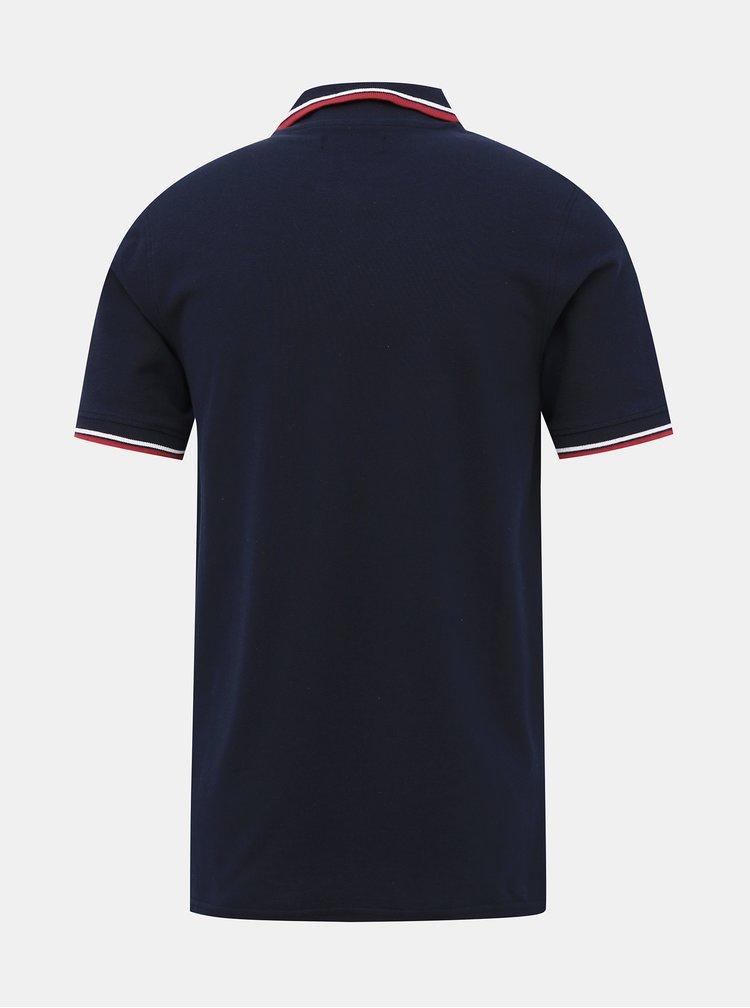 Tmavě modré polo tričko Jack & Jones Noah