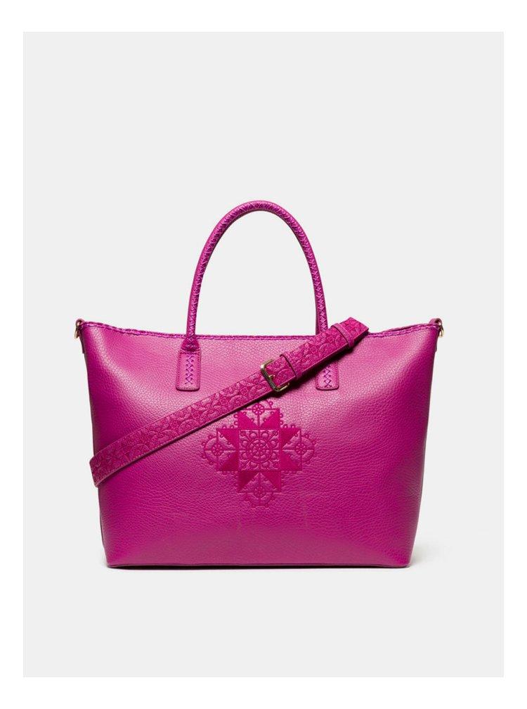 Růžová kabelka Desigual