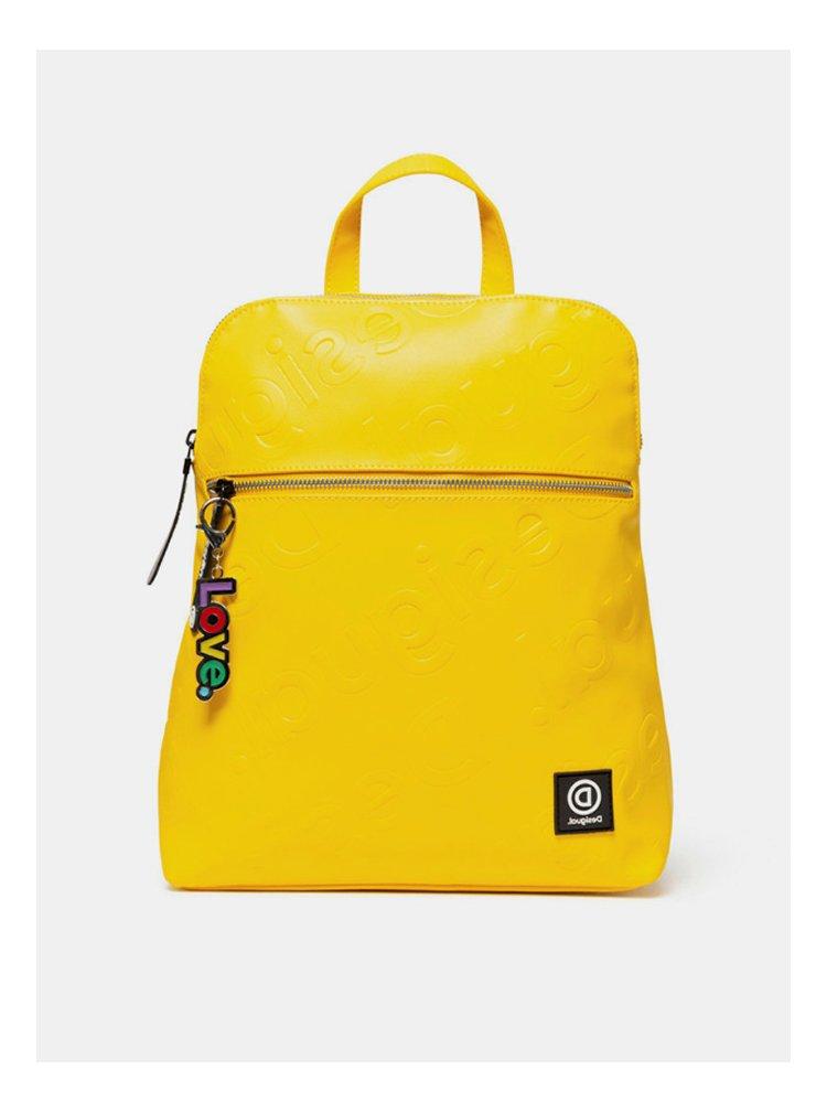 Žlutý batoh Desigual