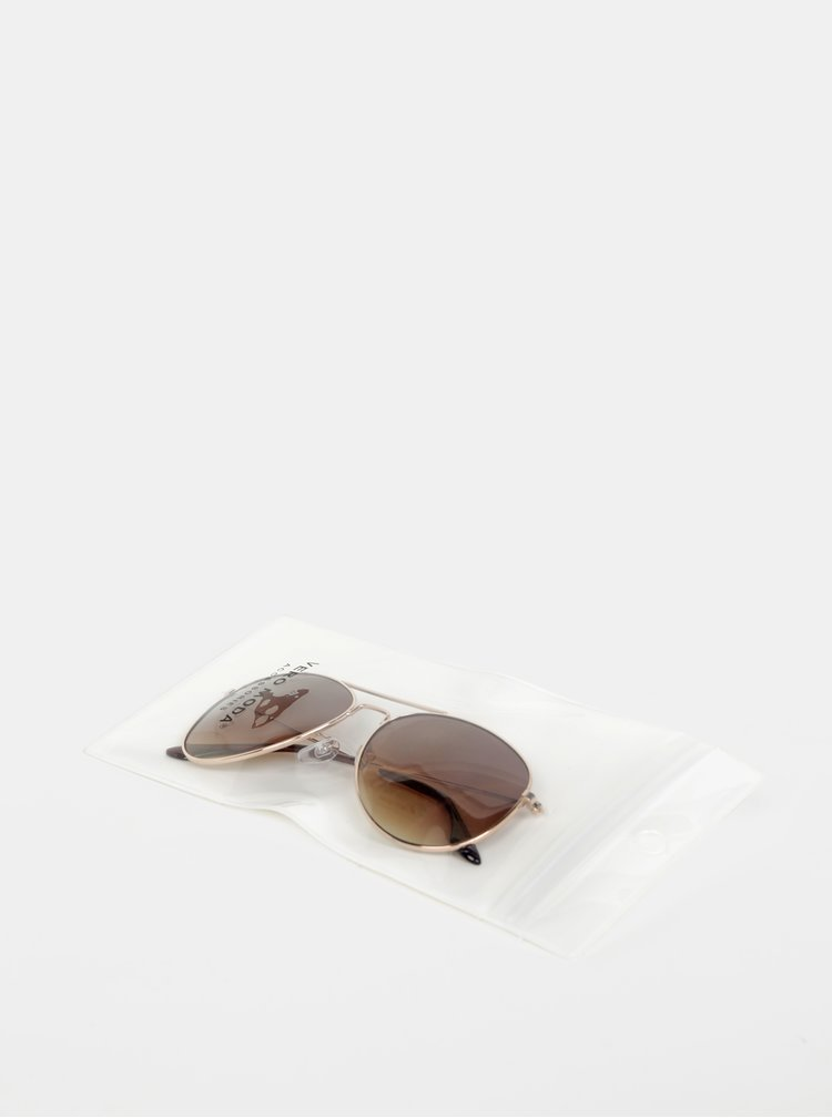 Ochelari de soare pentru femei VERO MODA - auriu