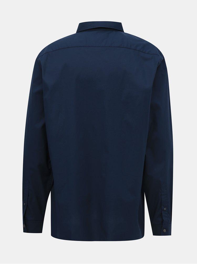 Camasi casual pentru barbati Lacoste - albastru inchis