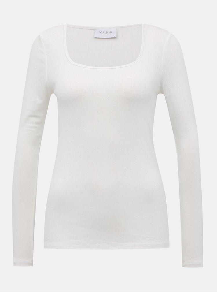 Topuri si tricouri pentru femei VILA - alb