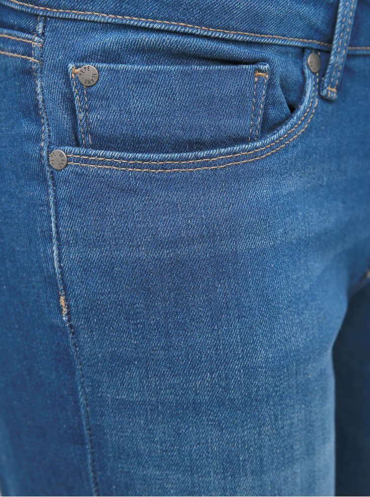 Modré dámske skinny fit rifle Pepe Jeans Soho