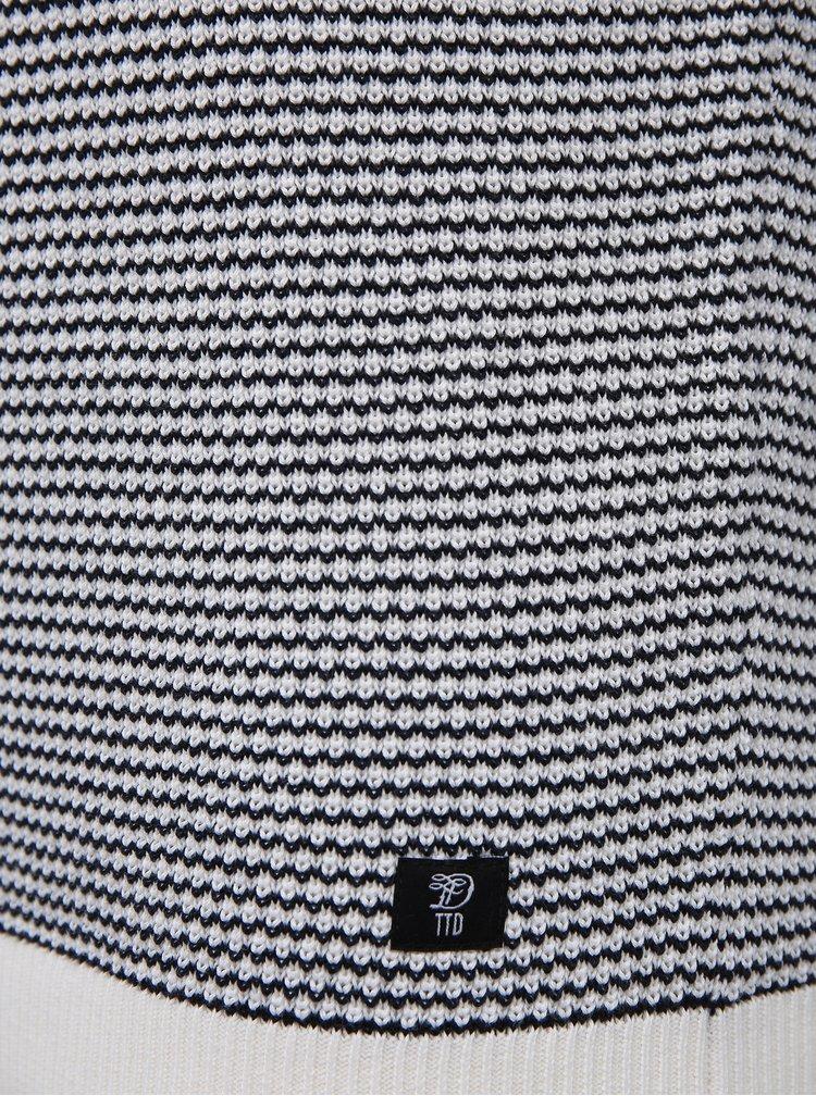 Modro-bílý pánský svetr Tom Tailor Denim