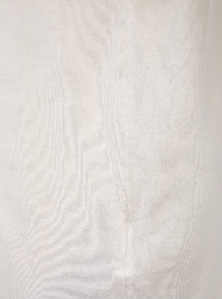 Bílé basic tričko AWARE by VERO MODA Ava