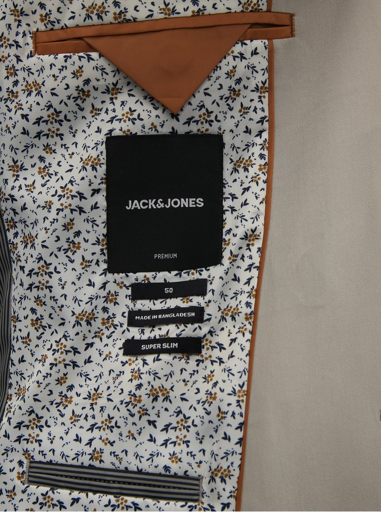 Sacouri pentru barbati Jack & Jones - bej