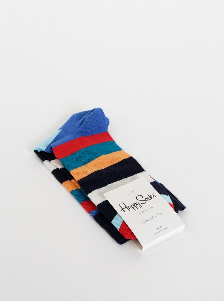 Sosete unisex colorate cu dungi de la Happy Socks