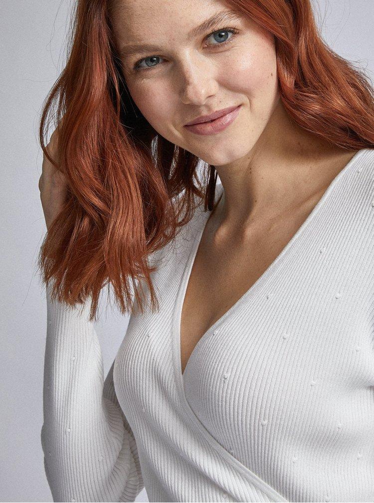 Bílý svetr Dorothy Perkins