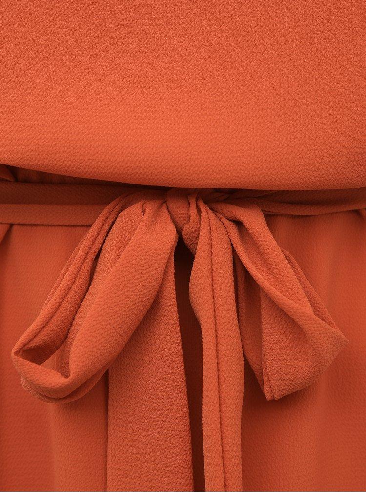 Oranžové šaty Jacqueline de Yong Amanda