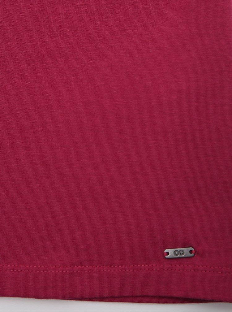 Tricouri basic pentru femei ZOOT Baseline - roz inchis