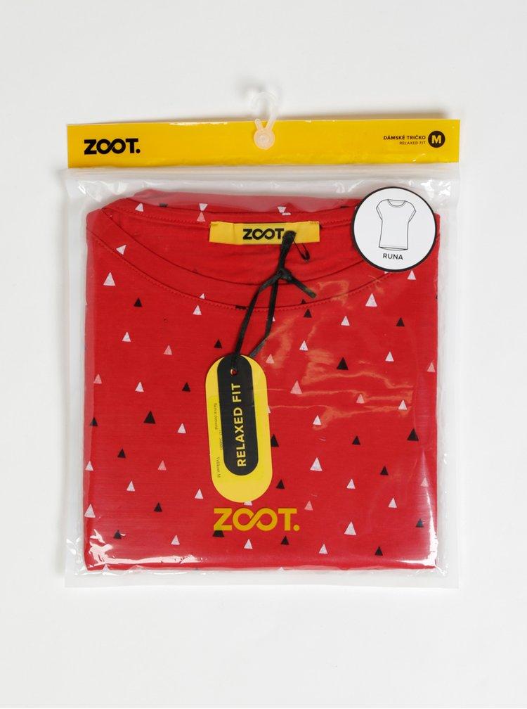 Tricouri pentru femei ZOOT Baseline - rosu