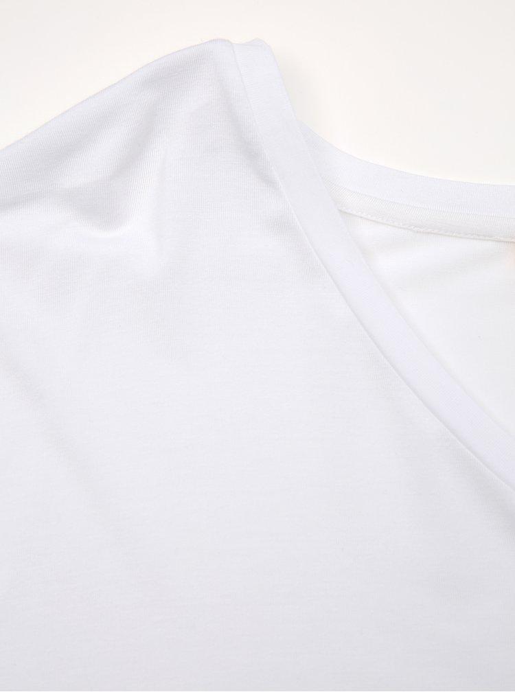 Bílé dámské basic tričko ZOOT Baseline Adriana