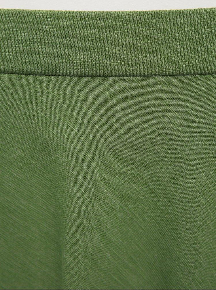 Zelená basic sukně ZOOT Baseline Andrea
