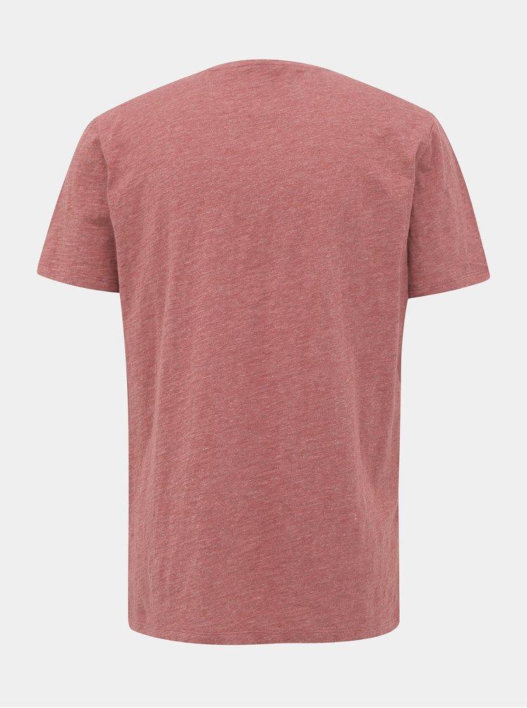 Červené pánské basic tričko ZOOT Brandon