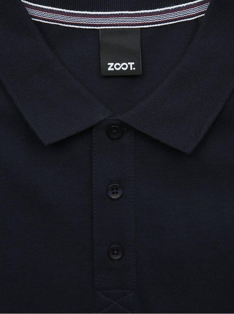 Tmavě modré pánské basic polo tričko ZOOT Lionel