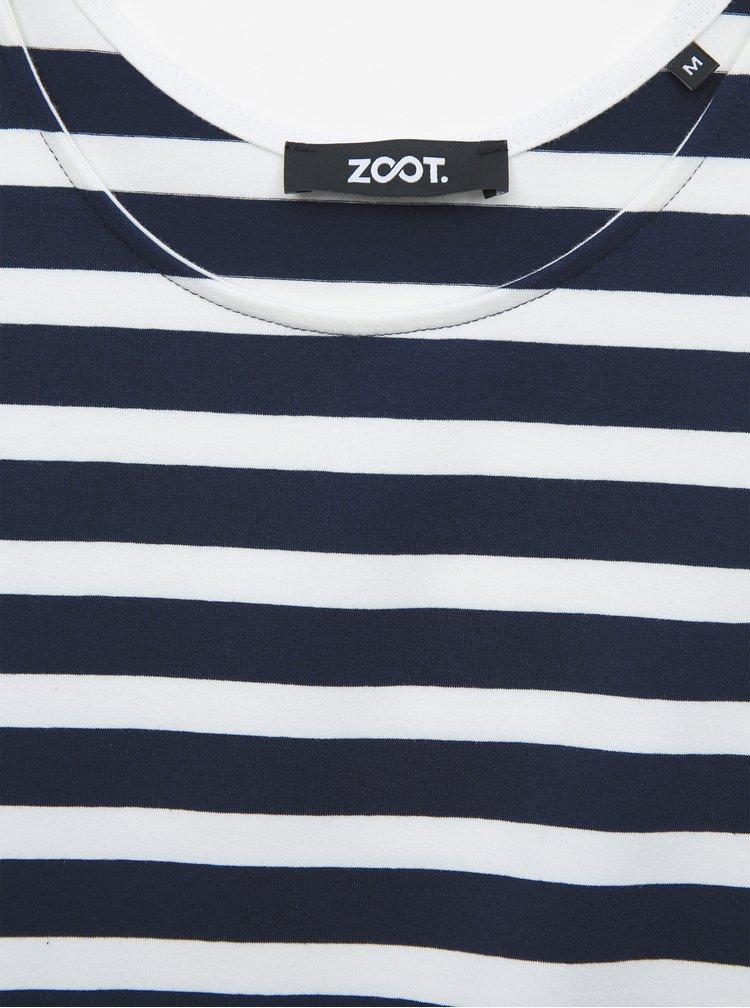 Bílo-modré pruhované basic šaty ZOOT Jesica