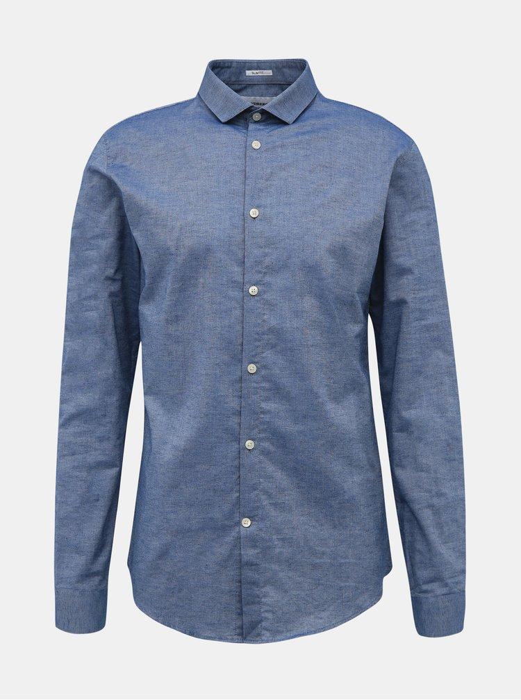 Modrá slim fit košile Lindbergh