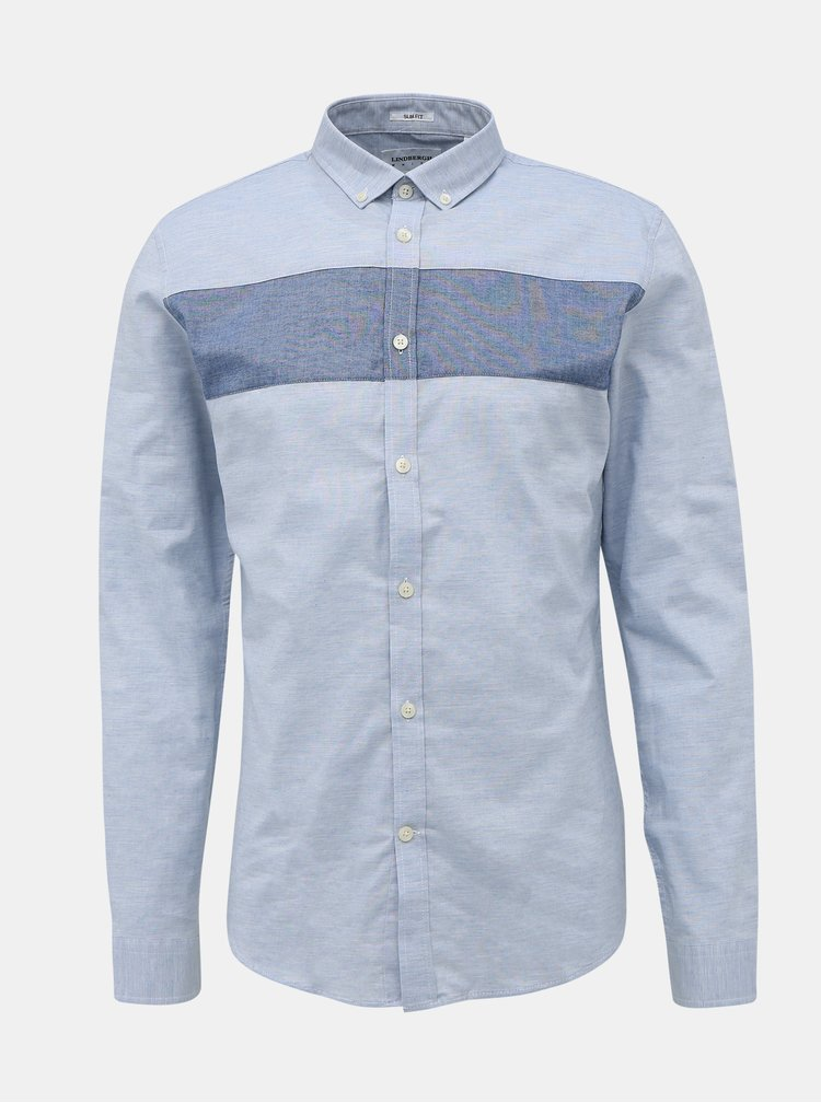 Camasi casual pentru barbati Lindbergh - albastru