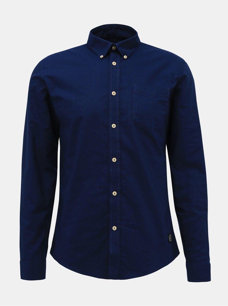 Camasi casual pentru barbati Shine Original - albastru inchis