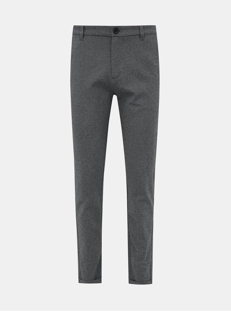 Pantaloni formali pentru barbati Lindbergh - gri