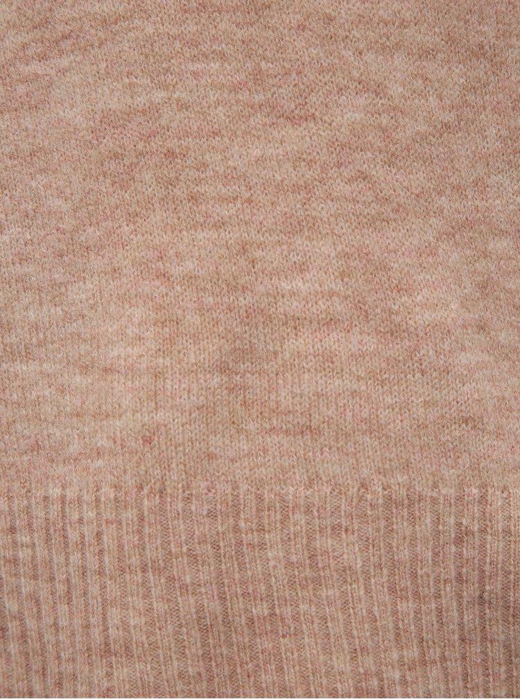 Růžový svetr Jacqueline de Yong Tea