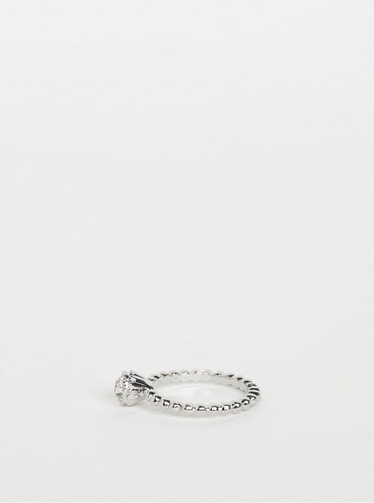 Prsten ve stříbrné barvě M&Co