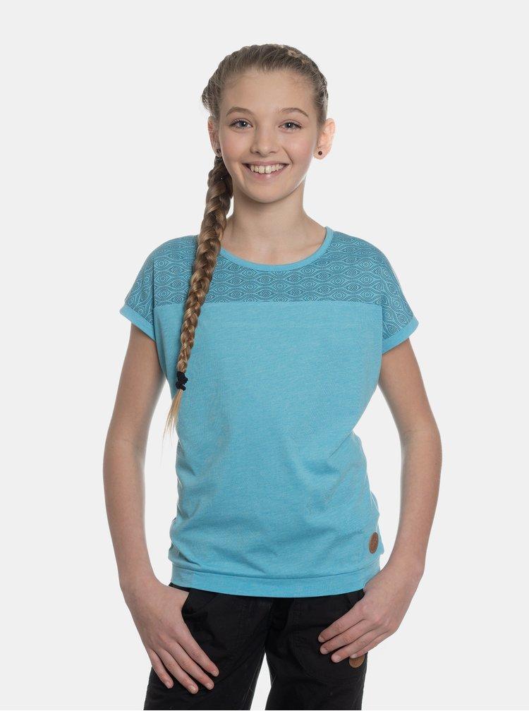 Modré holčičí vzorované tričko SAM 73
